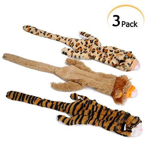 Pdto Stuffing Free Dog Toys No Stuffing Dog Chew Toys Set With