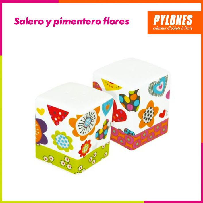 Salero y pimentero gatos #Hogar #Casa #Color