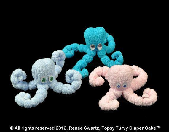 Washcloth Octopus