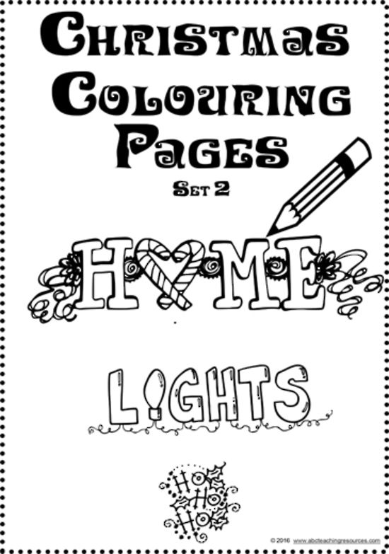 Interpreting Photographs Set 1 A collection of seven photographs - new christmas abc coloring pages