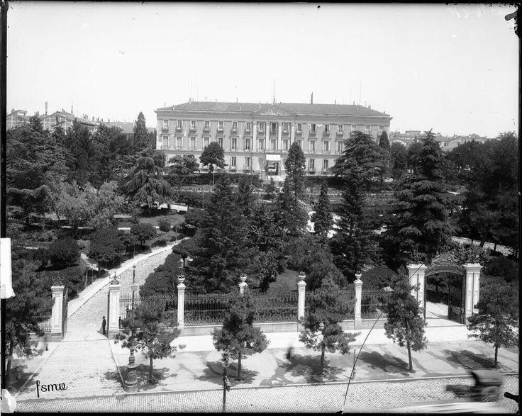 El palacio de Buenavista principios del siglo XX Ruiz Vernacci