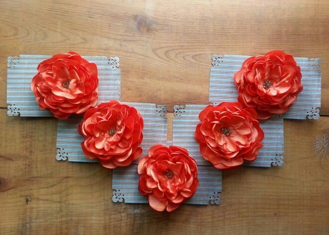 Bridal Party Flower Hair Clips♡
