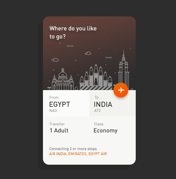 TICKET MODAL - DESIGNED BY RANJITH ALINGAL #ui #design