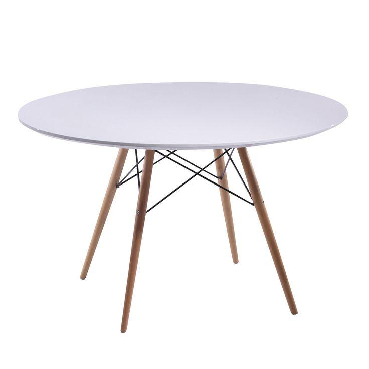 Mesa TENDAR 120 (Mesas de comedor) - DSW Sillas de diseño, mesas de diseño, muebles de diseño, Modern Classics, Contemporary Designs...