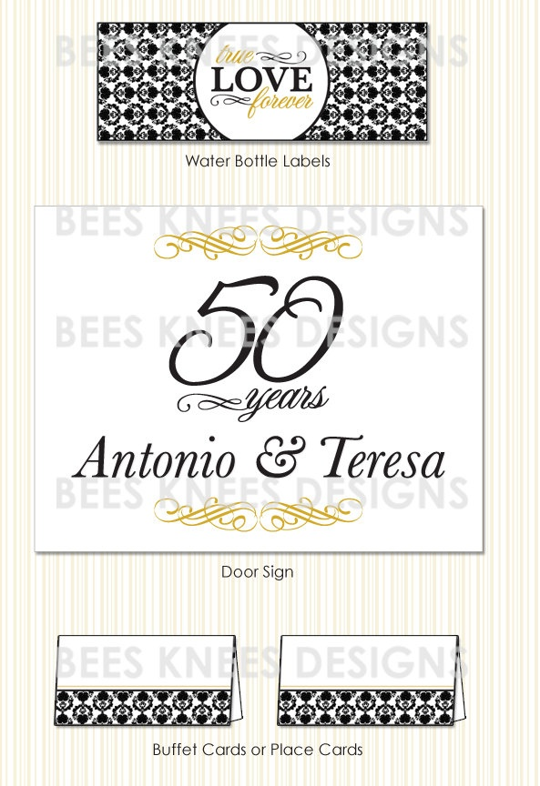 80 best cards invitations images on pinterest card ideas 50th wedding anniversary invitation and printable party pack banner cupcake toppers thank you cards buffet cards stopboris Gallery