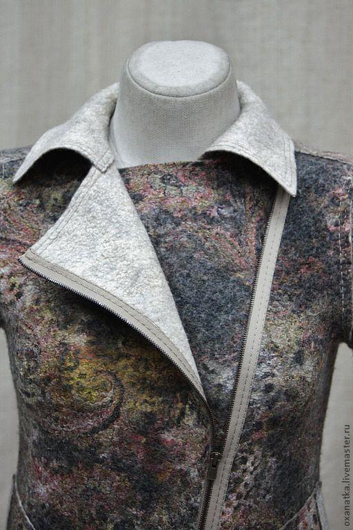 Пиджаки, жакеты ручной работы. Валяная куртка Косуха. FeltOx ( Оксана Ткаченко). Ярмарка Мастеров. Одежда из войлока