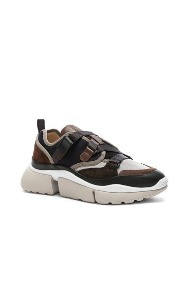 b28001eac52a Sonnie Leather Velcro Strap Sneakers
