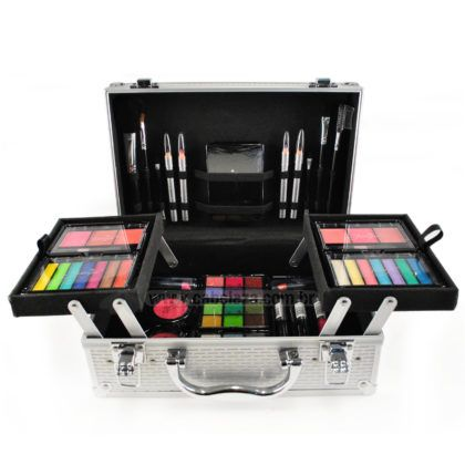 maletas de maquiagem completa
