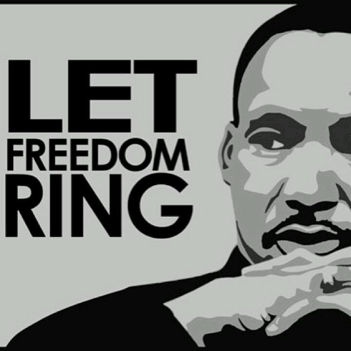 let freedom ring mlkj mlk jr day pinterest martin