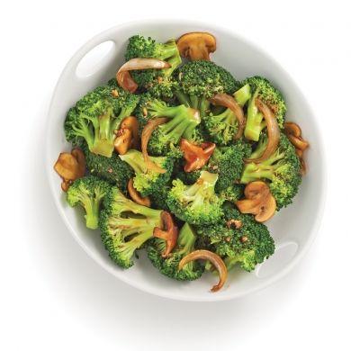 Brocoli poêlé et champignons - Recettes - Cuisine et nutrition - Pratico Pratique