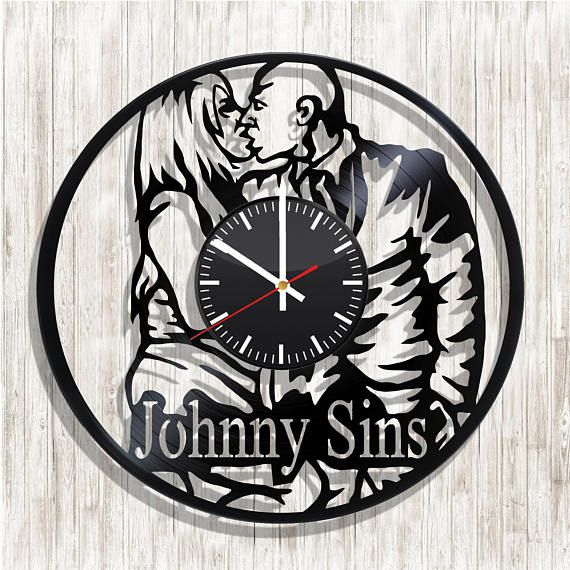 Johnny Sins Wall clock with original design Johnny Sins wall
