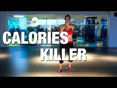 Envie de transpirer et de brûler un maximum de calories ? Cette séance de fitness « calorie killer » est faite pour vous ! Lucile vous propose une série d'en...