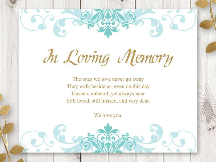 33 best wedding invitation templates quotelegant ironwork for In loving memory templates