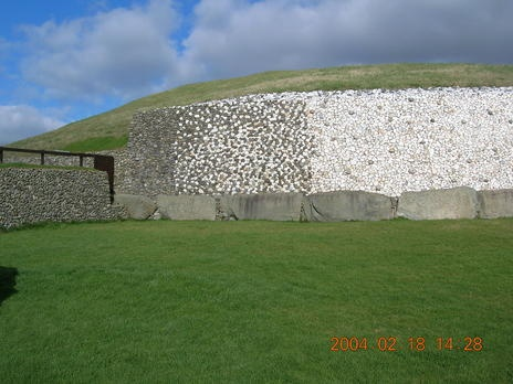 Archaeological Ensemble of the Bend of the Boyne. Ireland.