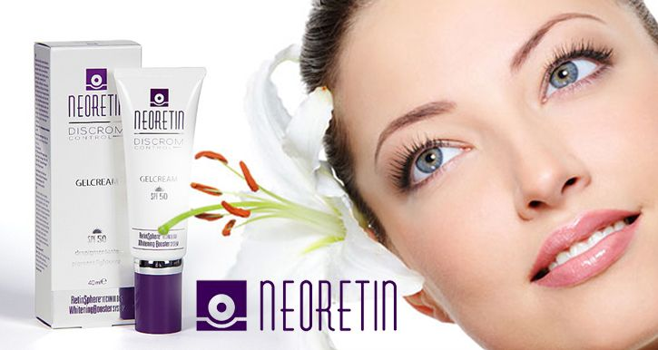 NeoRetin helps clear and brighten your skin, creating an even complexion.
