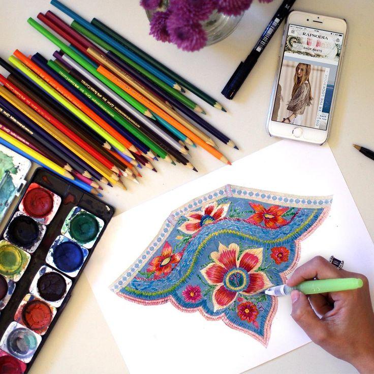 Ethnic Inspiration! Detalles de nuestro verano! #colors #ethnic#details #flowers #thai #universorapsodia #rapsodiacolombiaoficial