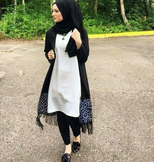 hijab, black, and black n white image