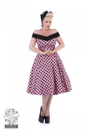 50 talls Dolores kjole