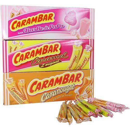 Traditional French Candies   Carambar Caramel Traditional French Candy, 10 piece bag ...