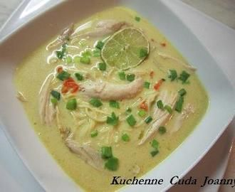 Zupa Tajska z Mlekiem Kokosowym