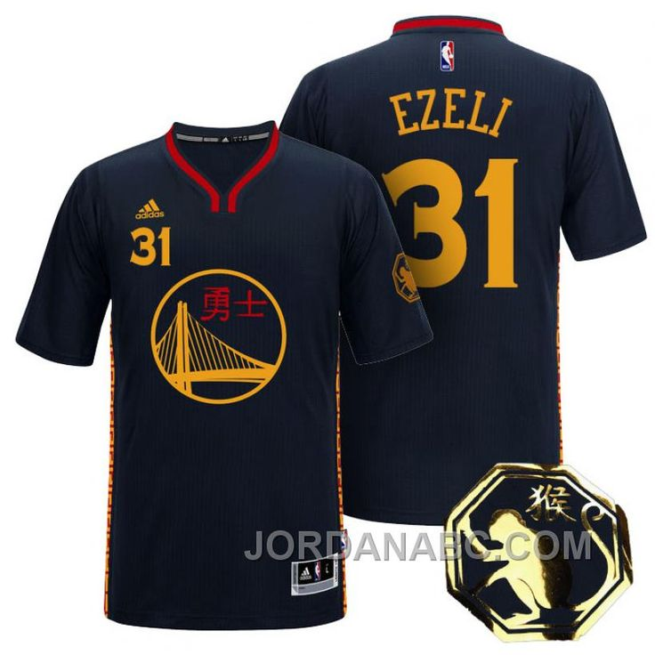 http://www.jordanabc.com/festus-ezeli-golden-state-warriors-31-2016-chinese-new-year-of-monkey-black-sleeves-jersey.html FESTUS EZELI GOLDEN STATE WARRIORS #31 2016 CHINESE NEW YEAR OF MONKEY BLACK SLEEVES JERSEY Only $69.00 , Free Shipping!
