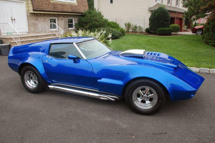 1968 Mako Shark Corvette Gm Corvette Pinterest
