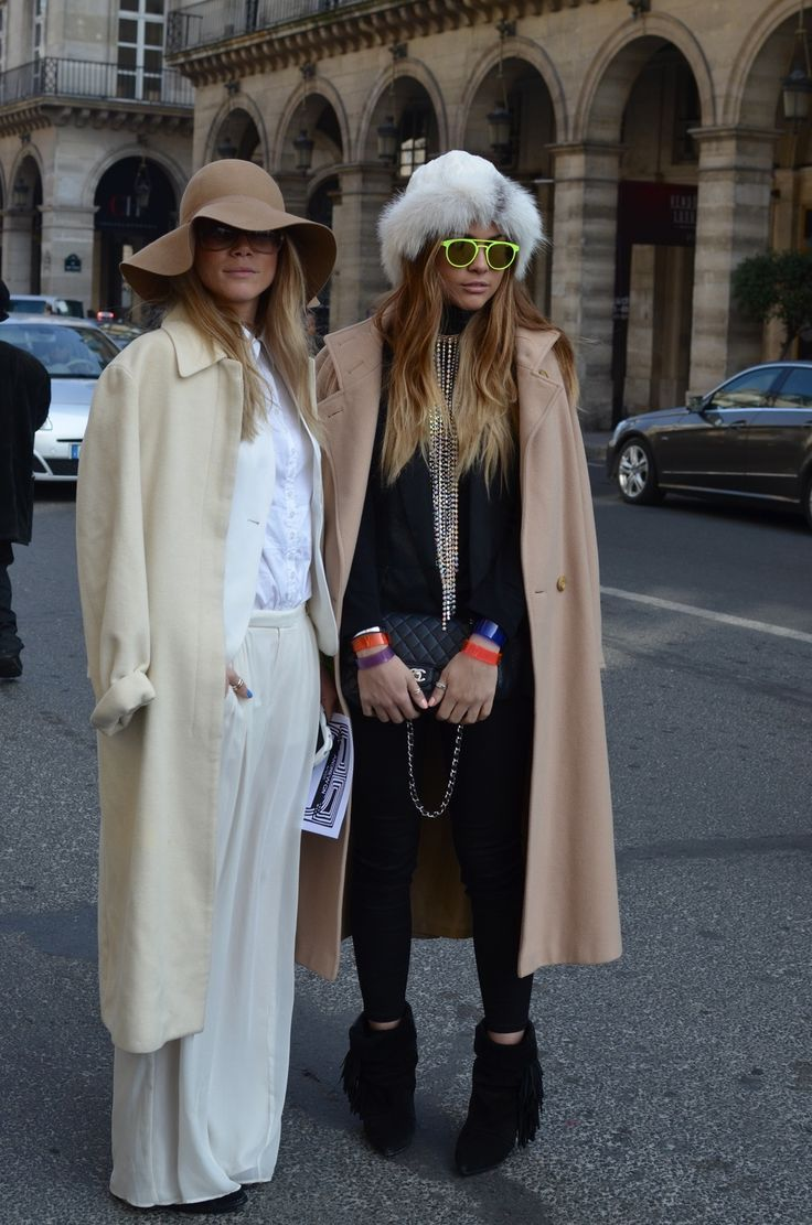 The Olsen Twins know a thing or two about layering wouldn't you say?
