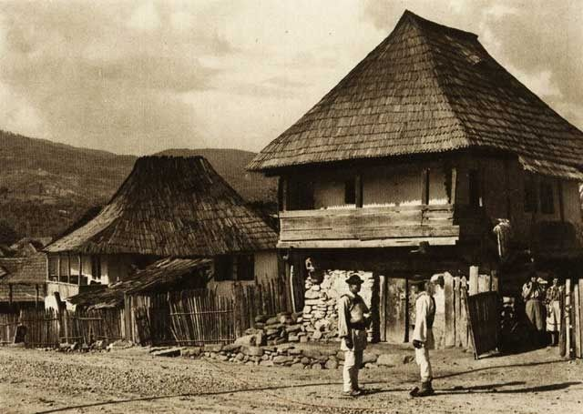 Calimanesti,-case-taranesti - case traditionale romanesti