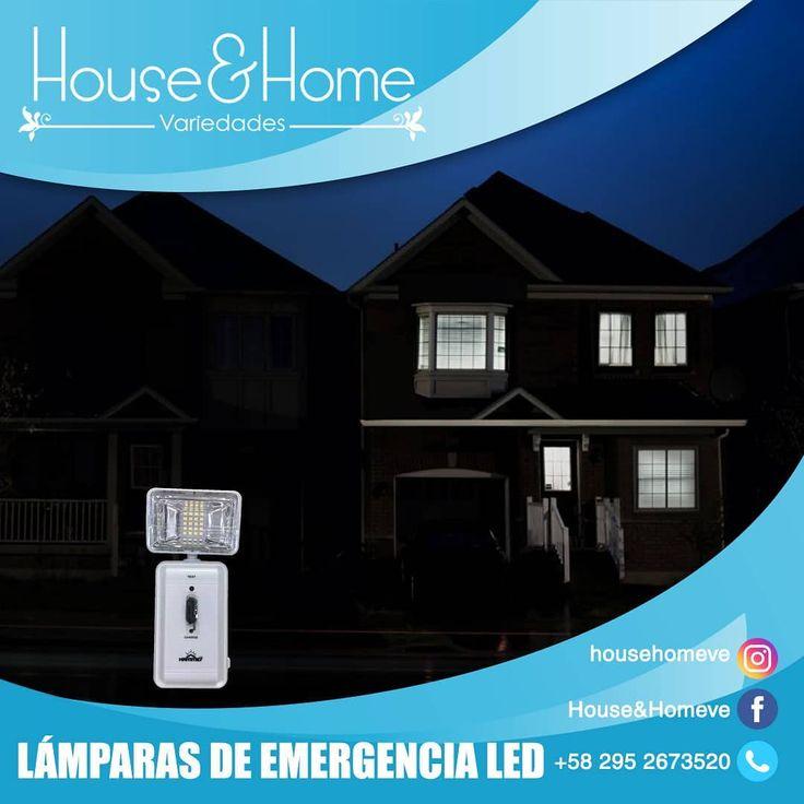Tenemos disponibles lámparas de emergencia LED (recargables) Hammer de 5W. ¡Te…