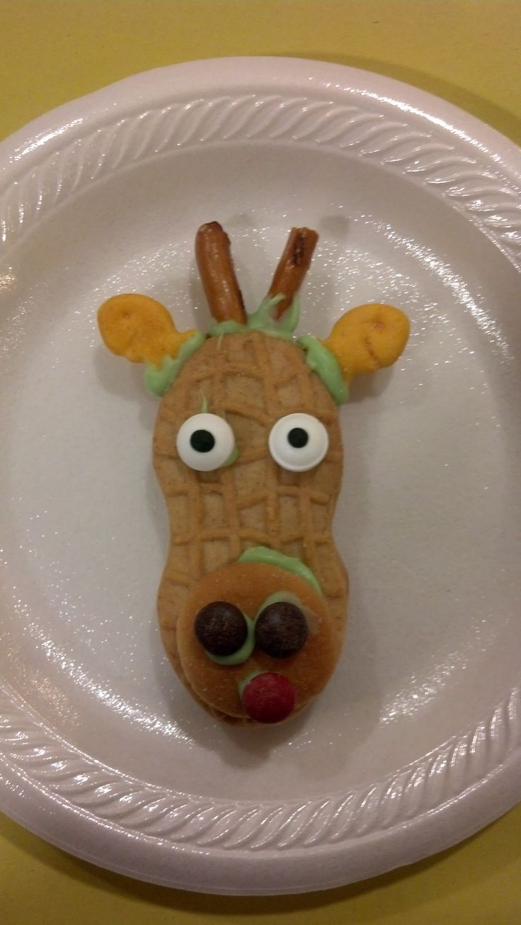 Super cute giraffe cookies that we had at a dinner for a missionary to Tanzania!