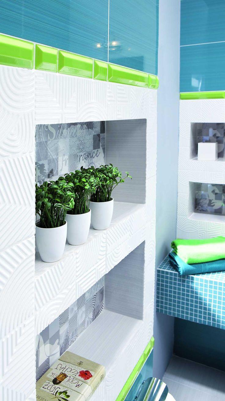 rośliny w łazience dodadzą życia otoczeniu :) #obipolska #obi #łazienka #