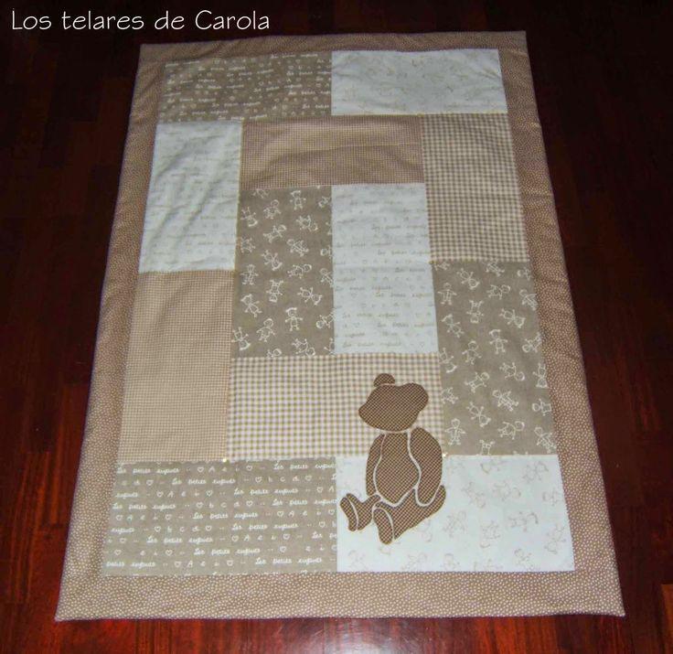 Los Telares de Carola: Manta-Cojin II y Feliz Año...