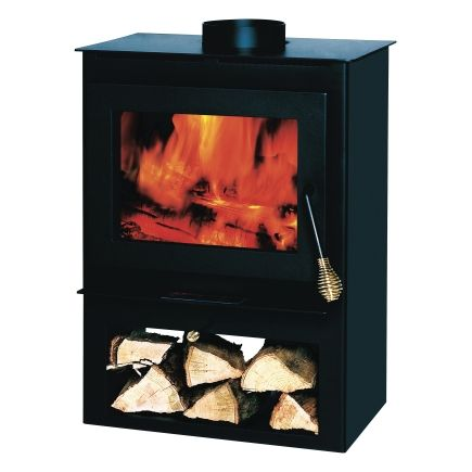 Wood Burning Stove with Storage (50-SVL17) From Summers Heat - Ace Hardware
