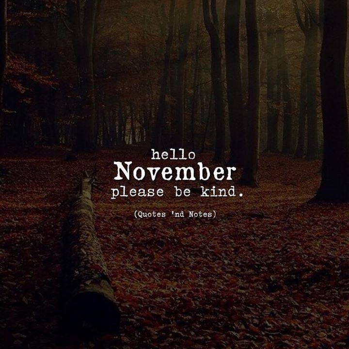 Hello November.  via (http://ift.tt/2h2oF9W)
