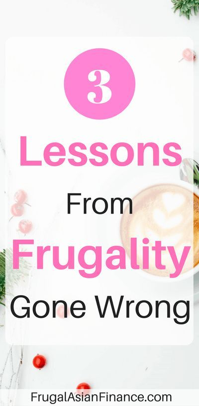 Frugality has brought Mr. FAF and me together as a couple, allowed me to save for a rainy day, motivated me to seek free resources for my own education, and make the best of everything that I have in life.  However, sometimes my frugality goes a bit to far and becomes detrimental to my emotional, physical, and financial health.