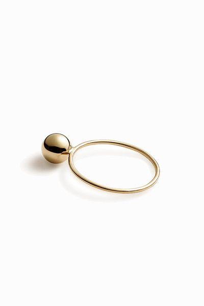 Trine Tuxen - Bullet 2 - Ring (Guld) - Adélie