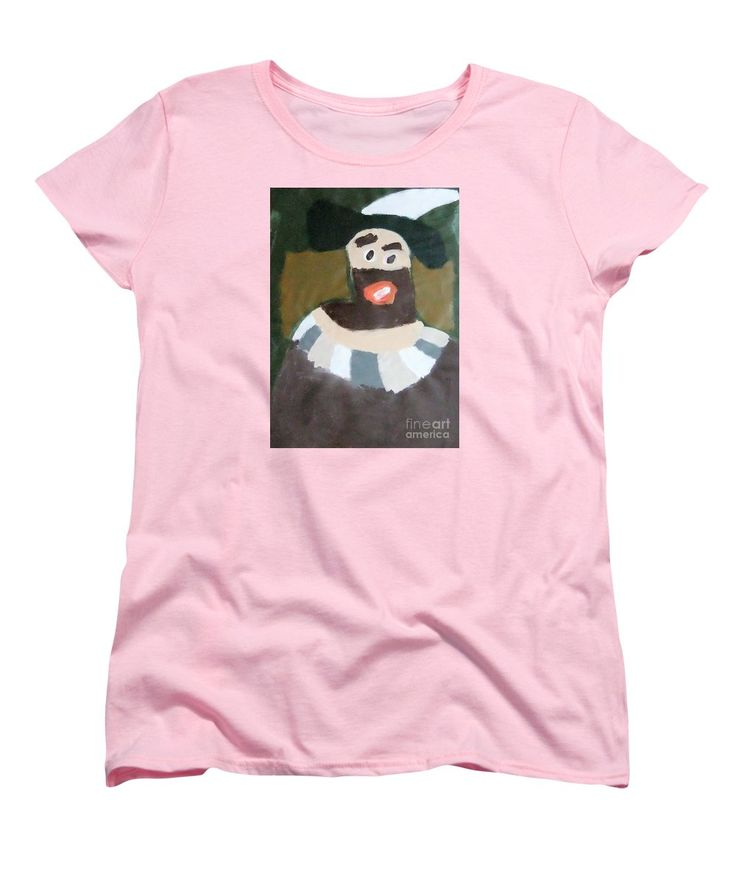 Patrick Francis Women's T-Shirt featuring the painting Rembrandt 2014 - After Rembrandt Self-portrait by Patrick Francis