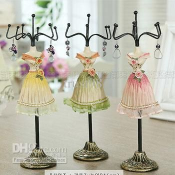 jewelry holder stand mannequin - Google Search