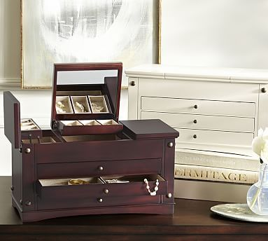 Ultimate Extra-Large Jewelry Box #potterybarn