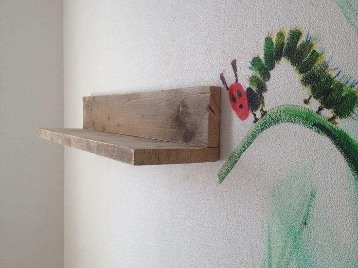 Steigerhouten wandplank - meerdere maten!
