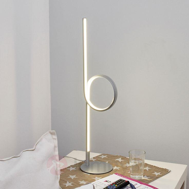Lampa stołowa LED Sanja w kształcie pętli 9985020