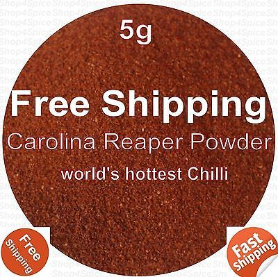 CAROLINA-REAPER-POWDER-WORLDS-HOTTEST-CHILLI-5G-EXTREMELY-HOT-HERBS-SPICES