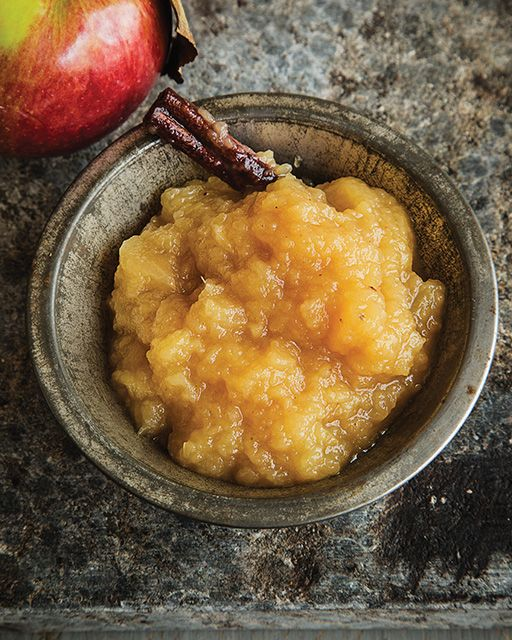 Bourbon Applesauce - http://www.sweetpaulmag.com/food/bourbon-applesauce #sweetpaul