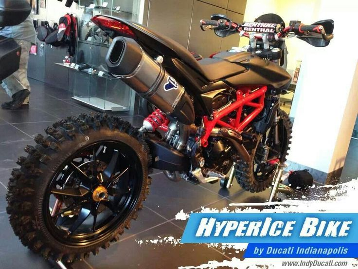 Ducati hypermotard, knarly!