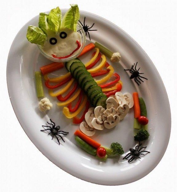 Os presentamos una serie de platos terroríficos para que disfrutéis de un Halloween aterrador.