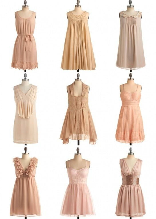 25  best ideas about Tan bridesmaid dresses on Pinterest | Nude ...