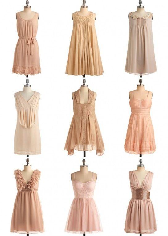 25  best ideas about Tan bridesmaid dresses on Pinterest | Nude ...