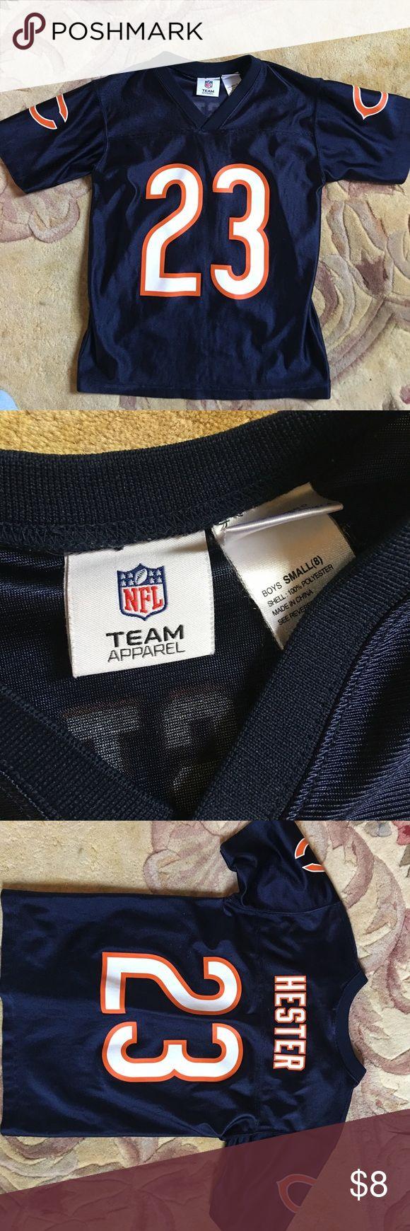 Boys Chicago bears jersey Boys sz8 Chicago Bears Hester jersey NFL Shirts & Tops Tees - Short Sleeve