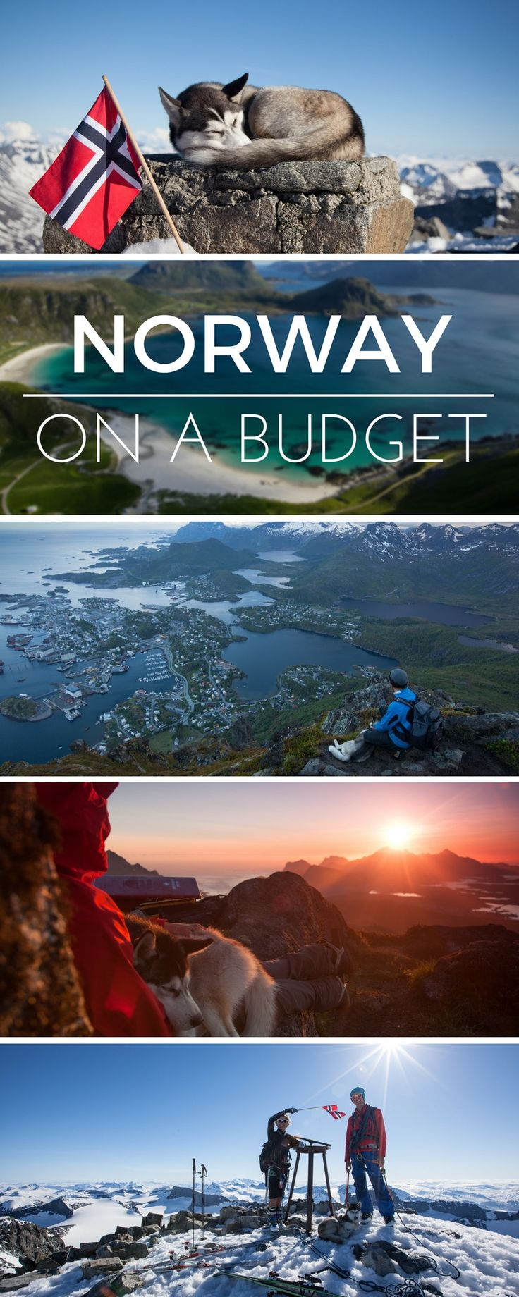 Norway on a Budget - these guys traveled the country without speding a fortune with their dog.
