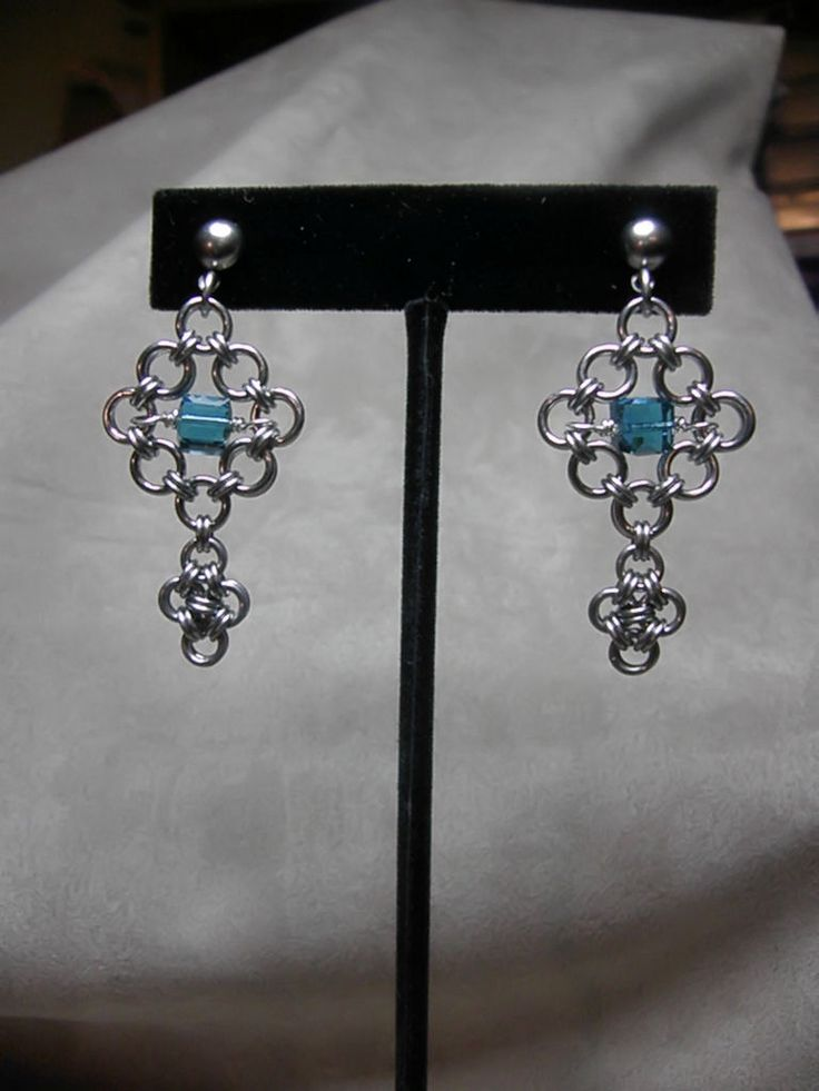 1000 Images About Jewelry Chain Maille Earrings On